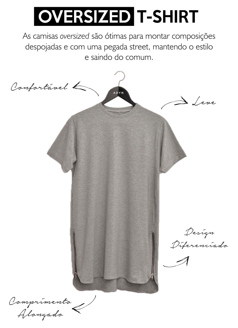 Moda T Shirt Oversized Fashionerd