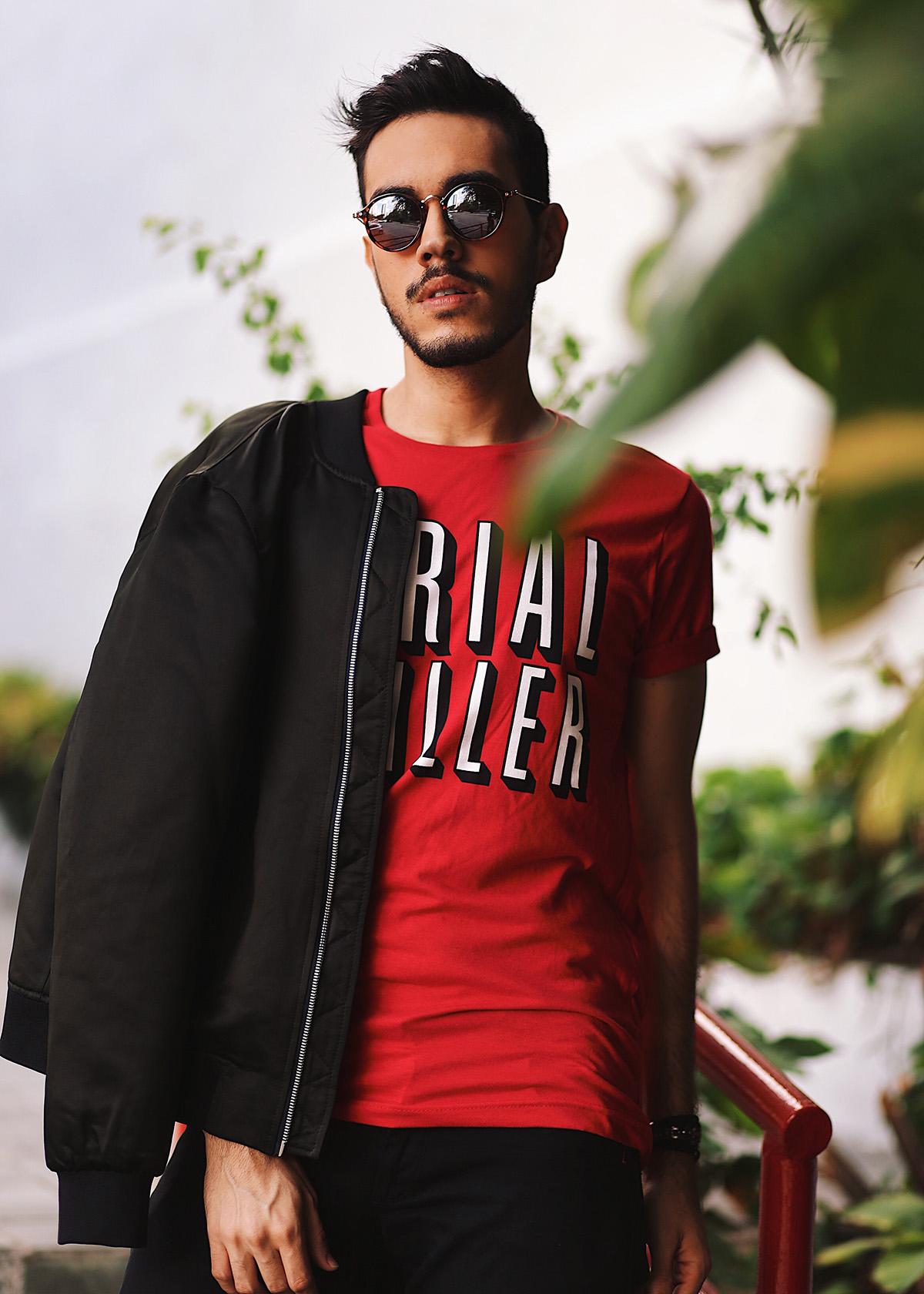 e0dddaebafd04 MODA • LOOK FN – NETFLIX MOOD (BLACK X RED) – Fashionerd
